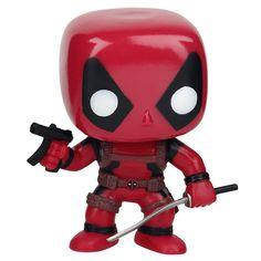 Statuetta decorativa #Deadpool del brand Funko collezione Pop!. Altezza: 10 cm circa.