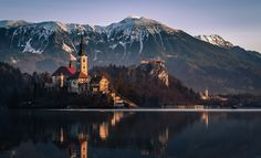 Photograph Bled in the morning by Sandi Bertoncelj on 500px