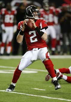 "Matt Ryan or ""Matty Ice"" is an NFL quarterback for the Atlanta Falcons who's known for having ice in his veins when it comes to pressure situations! Falcons Football, Football Players, Football Baby, Football Cards, Baseball Cards, Atlanta Falcons Rise Up, Matt Ryan, Football Conference, National Football League"