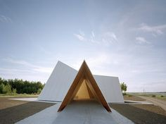 chapel by Finnish architectural firm AOA