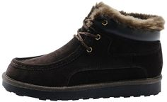 Rock Me Women's Thicker Wool Leather Flat Waterproof Ankle Snow Boots Unique III ** Click image for more details.