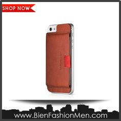 Mens iPhone Wallet | iPhone Case | iPhone Cover | Phone Wallet | SHOP NOW ♦ Distil Union Wally Case for iPhone 5 - Retail Packaging - Cowboy Brown $39.99
