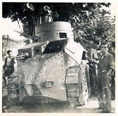 Spain - 1937. - GC - El carro Trubia A4