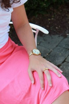 Pink, gold, #KateSpade, & #bows. | via Carly is Inspired Copywriting, Wedding Planning, Kate Spade, Bows, Inspired, Amp, Pink, Style, Arches
