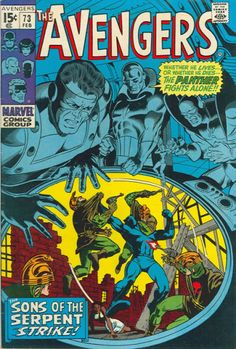 Roy Thomas' Panther's rage! T'Challa not only begins a storyline where he takes on the racist Sons of the Serpent singlehanded - he takes on a life in metropolitan New York (some elements carry over in Don McGregor's series).