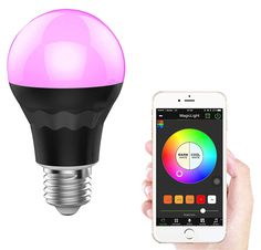 Bluetooth Color Changing Lightbulb