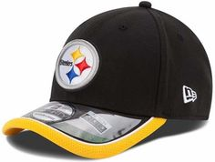 8734462cddf Pittsburgh Steelers New Era 39THIRTY 2014 On-Field Performance Flex Hat  Steelers Helmet
