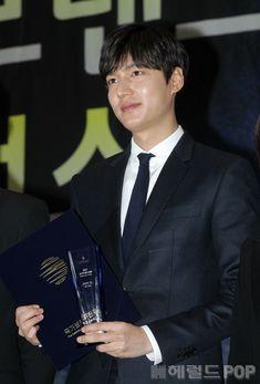 Lee Min Ho was awarded at the National Brand Awards   Koogle TV