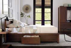 Shop by Room - Design Within Reach - Matera Bed with Storage