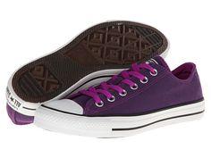 Converse Chuck Taylor® All Star® Dark Wash Neons Ox Purple Cactus Flower - Zappos.com Free Shipping BOTH Ways