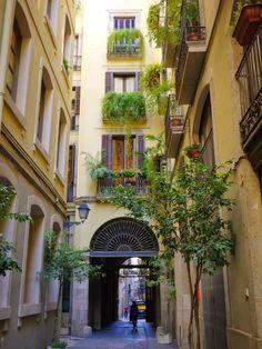 Hidden corner of Barcelona