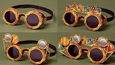 Paperized: Steampunk Goggles Papercraft