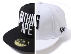 Arch Logo 59Fifty Fitted Cap by BAPE x NEW ERA