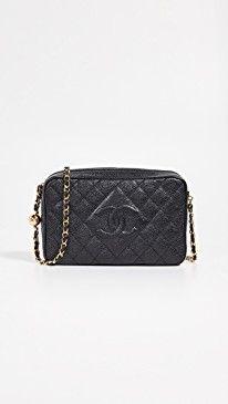 14dab5549da7 Chanel Caviar Diamond CC Camera Bag