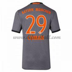 Neues Bayern Munich 2016-17 Fussball Trikot Coman 29 Kurzarm Auswärtstrikot Shop