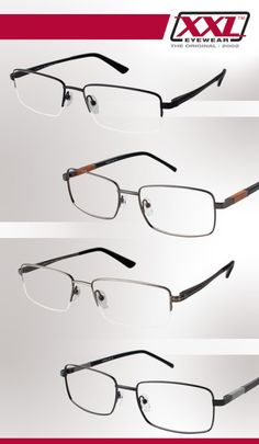 XXL Eyewear featured @Eyecessorize Eyewear, Guys, Glasses, Fashion, Moda, Eyeglasses, Eyeglasses, Fashion Styles, Sunglasses