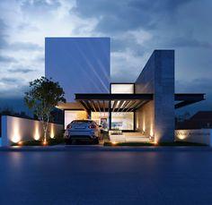 Arch House, Facade House, Facade Architecture, Residential Architecture, Contemporary Architecture, Design Exterior, Facade Design, Modern House Facades, Modern Villa Design
