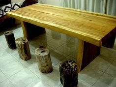 Solid Suar Wood Dining Tables and Suar Wood Furniture. Solid Wood Table, Furniture Decor, Dining Table, Dinner Table, Dining Room Table, Diner Table