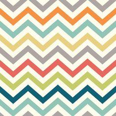 BUY THE FABRIC!  Skinny Chevron - Multi  (From cotton candy fabrics)