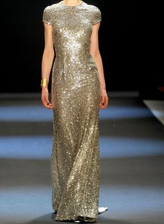 Gold is THE metallic for Fall 2012.