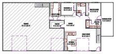 The Livingston - Back Forty Building Co. Barndominium Plans, Moving Walls, Glass Garage Door, Building Elevation, Electrical Plan, Shop Buildings, Building Department, Roof Plan, Modern Shop