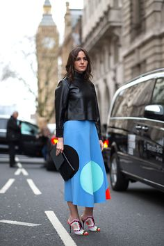 The Best London Fashion Week Street Style: Fall 2015 Sophia Webster Shoes