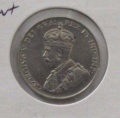 1924 Canada *XF* Nickel 5 Cents; KM #29