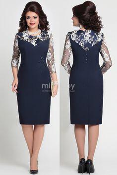 4118 тёмно-синий 1 Mira Fashion