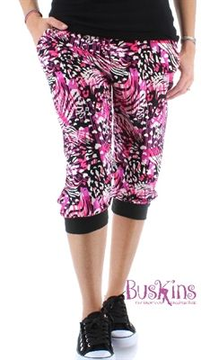 Show details for Wild About You Jogger Capris