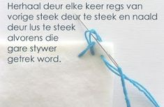Hekel Idees: Tutoriaal: Hoe om 'n randjie om te hekel. Knitting Patterns Free, Free Pattern, Crochet Patterns, Afrikaans, Hoe, Needlework, Blanket, Words, Baby