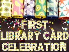 Celebrating a child's first library card: making memories to last a lifetime | hafuboti.com