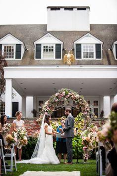Photography: AMW Studios - amwstudios.com  Read More: http://www.stylemepretty.com/new-england-weddings/2014/02/11/rustic-fall-woodstock-inn-wedding/