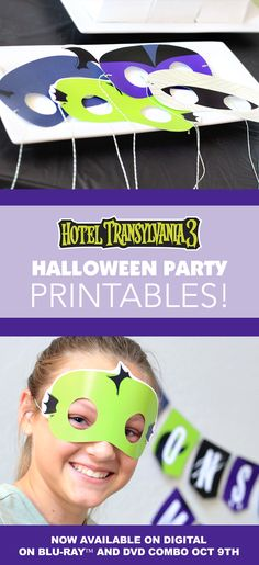 Throw a monster mash this Halloween with a free printable party pack inspired by. - Real Time - Diet, Exercise, Fitness, Finance You for Healthy articles ideas