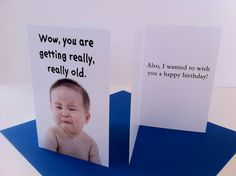 Funny Birthday Card by MichaelsCards on Etsy, $2.25