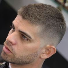 Low Bald Fade with Buzz Cut