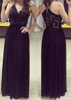 Sleeveless See-Through Rhinestoned Dress