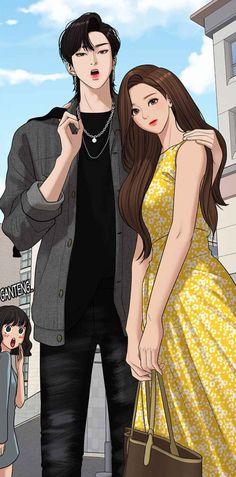 Romantic Anime Couples, Romantic Manga, Cute Couples, Hipster Couple, Beauty Art, True Beauty, Grell Black Butler, Korean Drama Best, Cute Couple Art