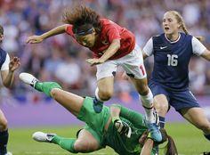 U.S. Women's Soccer Wins Gold, Defeating Japan In London Olympics Final (PHOTOS)