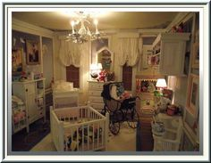 Nursery draperies by Dollhouse Linens & More by Wilson Santiago