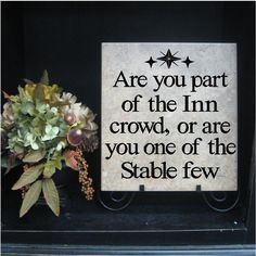 Are you part of the Inn crowd or one of the Stable few?