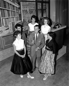 We got Bandstand after school on national TV in the US for the first time in 1957 and my life was drastically changed - I got to see all the latest dances - I danced in my own living room to each song