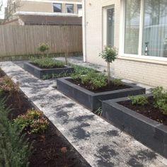 Moderne voortuin - Tuindeluxe Kerkdriel Front Yard Landscaping, Curb Appeal, Garden Plants, Landscape Design, Brick, Backyard, House Styles, Room Ideas, Tips