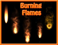 """Check out new work on my @Behance portfolio: """"Burning Flames"""" http://on.be.net/1AbEzBc"""