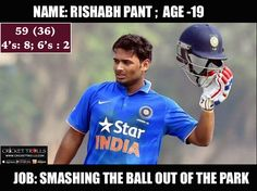 Rishabh Pant scored a quick FIFTY for India A against England XI in the 2nd Warm-Up match today #IndAvEng For more cricket fun click : http://ift.tt/2gY9BIZ - http://ift.tt/1ZZ3e4d
