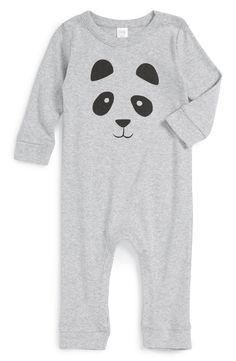 Nordstrom Baby Panda Graphic Romper (Baby) available at #Nordstrom
