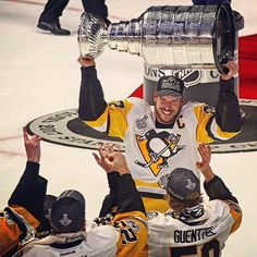 Sid and Stanley Pittsburgh Sports, Pittsburgh Penguins Hockey, Pens Hockey, Lets Go Pens, Penguin Love, We Are The Champions, Stanley Cup Champions, Sidney Crosby, World Of Sports