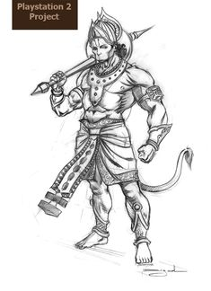 Character Design for various domain Hanuman Pics, Ram Hanuman, Hanuman Images, Shiva Art, Krishna Art, Hindu Art, Lord Ganesha Paintings, Lord Shiva Painting, Hanuman Tattoo