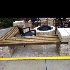 Pool Patio Outdoor Entertainment On Pinterest Log Benches Above
