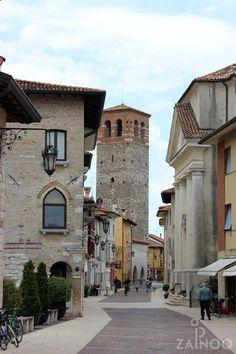 Medieval Town Centre - Marano Lagunare, Upper Adriatic, Italy