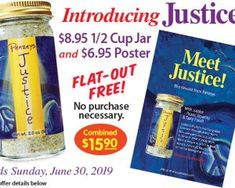 Saturday Freebies - Free Justice Seasoning and Poster at Penzey's Spices Free Redbox, Reading Programs For Kids, Canning Beets, Personal Pizza, Organic Snacks, Nourishing Shampoo, Free Magazines, Programming For Kids